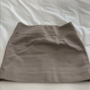 JCrew skirt with back zipper and clasp